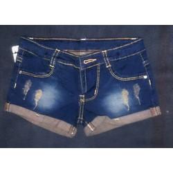 Short jean cực ngầu cho bé gái