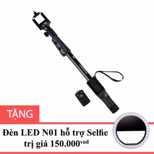 Gậy Selfie chuyên nghiệp YT1288 tặng đèn LED hỗ trợ chụp hình N01