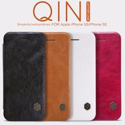 Bao da IPhone 5s chính hãng Nillkin QIN cao cấp