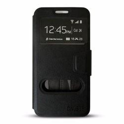 Bao da cho điện thoại IP4 -4S màu đen