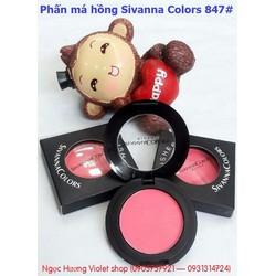 Phấn má hồng Sivanna Colors 847