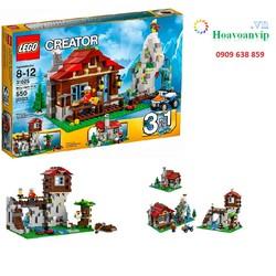 Đồ Chơi Xếp Hình Lego Creater 31025 - Ngôi Nhà Trên Núi