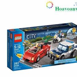 Đồ Chơi Lego City 60007 Xe Đuổi Bắt Tốc Độ