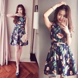 Set áo chéo eo + váy
