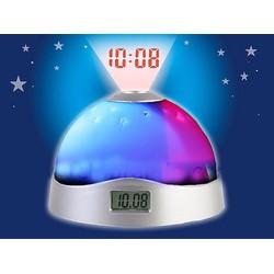 Đồng hồ để bàn kiêm đèn ngủ chiếu sao và giờ lên trần nhà