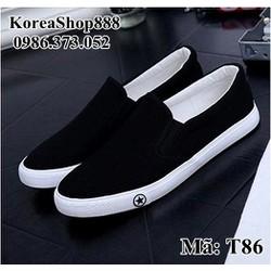 Giày Lười Nam Hàn Quốc Mã T86