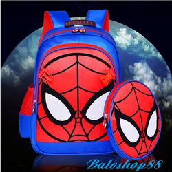 Balo hoạt hình người nhện cho bé