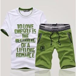 Quần short,bộ quần áo gym nam - QT2
