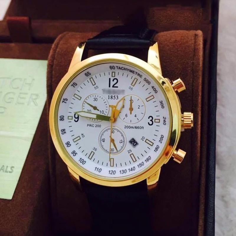 đồng hồ kim chống nước  kính saphire mã 1858TS 6