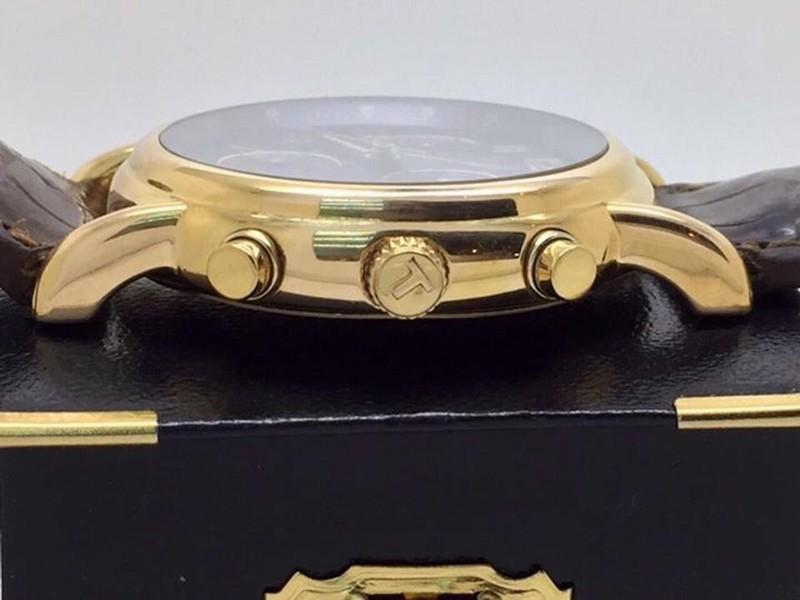 đồng hồ kim chống nước  kính saphire mã 1858TS 4