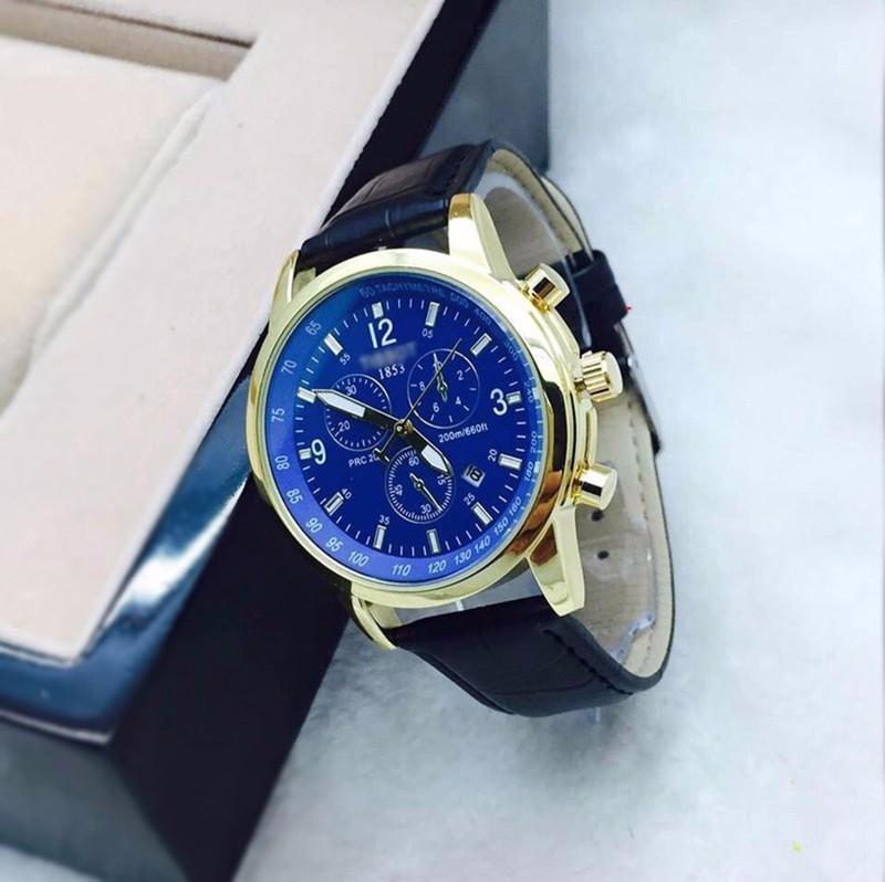 đồng hồ kim chống nước  kính saphire mã 1858TS 3