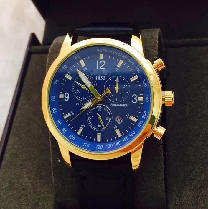 đồng hồ kim chống nước  kính saphire mã 1858TS 2