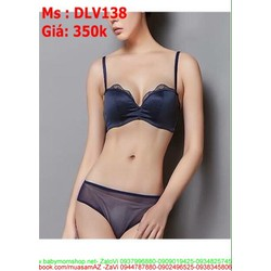 Sét đồ lót nữ áo phối viền lưới chất liệu vải cao cấp DLV138