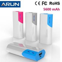 Pin dự phòng A-run 5600mah - Bảo hành 6 tháng chính hãng