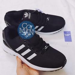 Giày Zx flux đen trắng