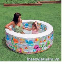 Bể bơi cá 3 tầng 152x56 Intex 58480