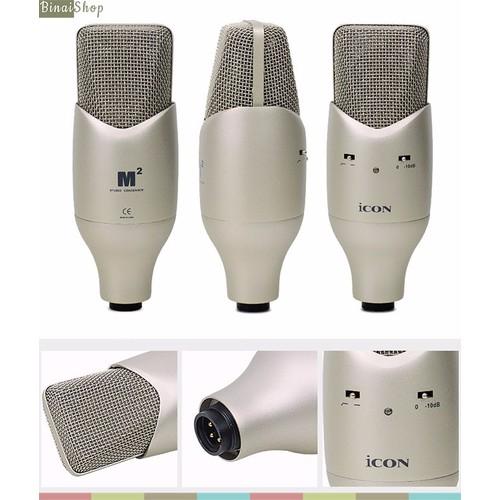 Microphone phòng thu Icon M2 - 4175133 , 5024174 , 15_5024174 , 4500000 , Microphone-phong-thu-Icon-M2-15_5024174 , sendo.vn , Microphone phòng thu Icon M2