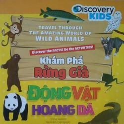 Khám phá rừng già - Động vật hoang dã - Sách ảnh cho trẻ thơ