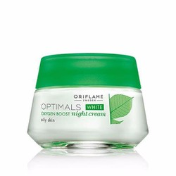 Kem dưỡng da Optimals White Oxygen Boost Night Cream Oily Skin