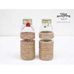 Cặp chai nắp nhôm Handmade TNS1