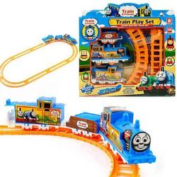 Bộ đồ chơi đường ray xe lửa cho bé.