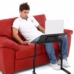 Bàn Laptop Xoay Đa Năng Có Quạt Tản Nhiệt Tiện Ích
