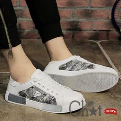 Giày Sneaker Nam Phong Cách Mảng Màu Cực Chất