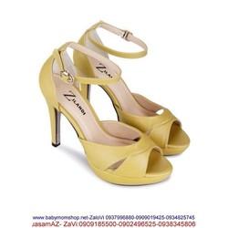 Giày cao gót kiểu quai hậu hở mũi mẫu mới về GCG153