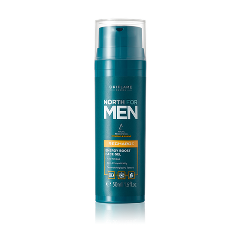 Gel dưỡng da mặt cho nam North For Men Recharge Energy Boost Face Gel - 32010