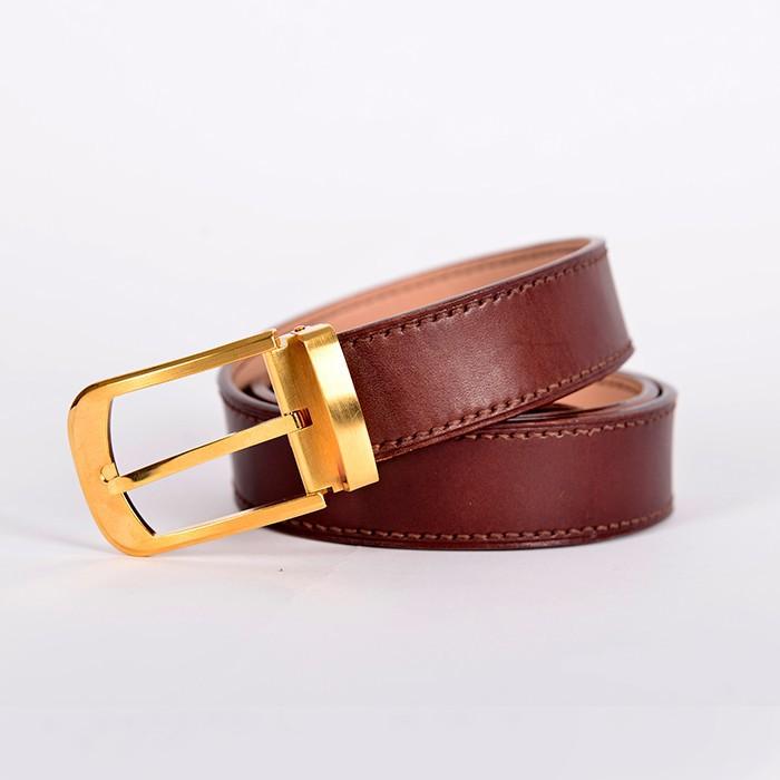 Thắt Lưng Da Bò Handmade Nhập Khẩu STLH014 3