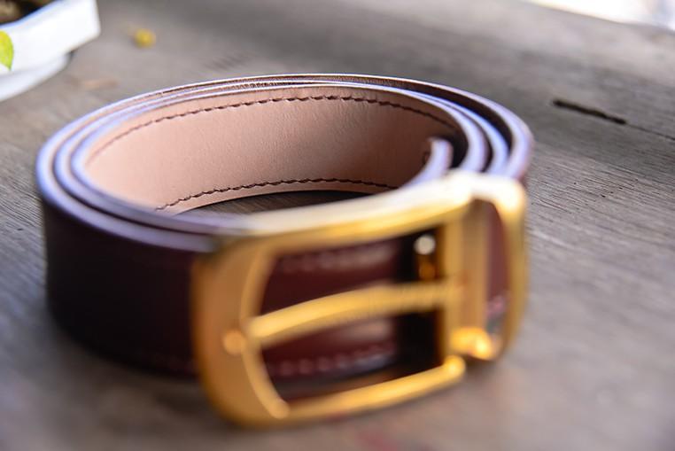 Thắt Lưng Da Bò Handmade Nhập Khẩu STLH014 2