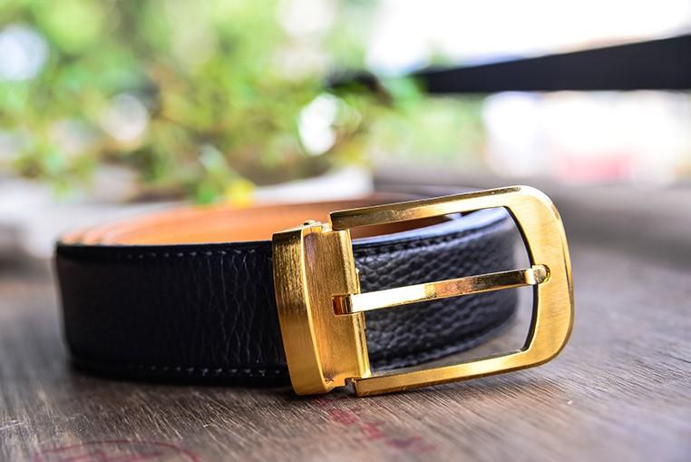 Thắt Lưng Da Bò Handmade Nhập Khẩu STLH014 1