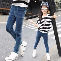 Quần jean ôm co giãn kiểu hàn cho bé gái từ 3 đến 12 tuổi - VG1005