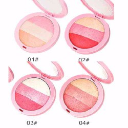 PHẤN MÁ HỒNG THREE COLOR BLUSH