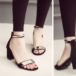 Giày cao gót bản sắt  dự tiệc 5 cm