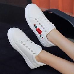 hàng cao cấp loại 1- giày thể thao hoa hồng