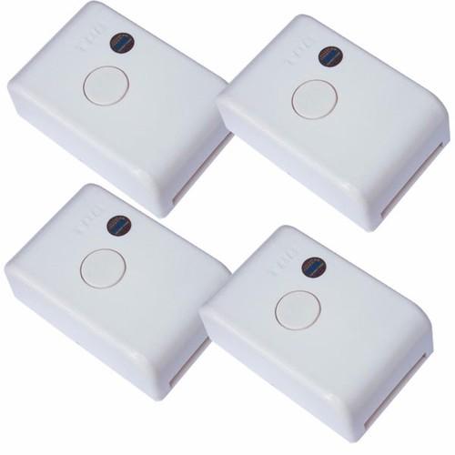 Bộ 4 hộp công tắc nhận tín hiệu điều khiển từ xa 315Mhz 4000W TPE RC1A