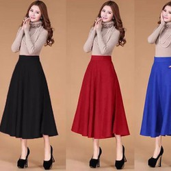 Chân váy dài nhiều màu