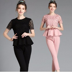 Bộ áo và quần thời trang nữ hè 2017 - B2135T