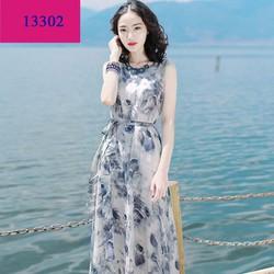 Đầm Maxi Voan Đi Biển