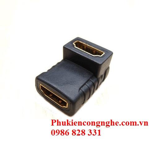 Đầu nối HDMI chữ L 2 đầu âm 1