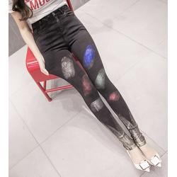 quần jeans skinny màu sắc Mã: QD1331