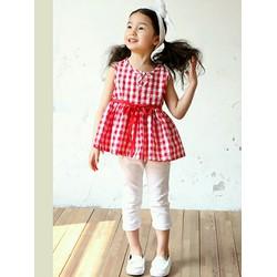 Áo bé gái dễ thương