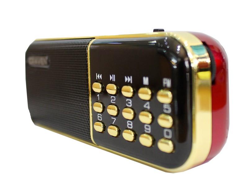 LOA NGHE THẺ NHỚ, USB, RADIO CRAVEN CR-25A CÓ MÀN HÌNH LCD CỰC HAY 1