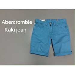 quần short kaki jean