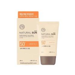 Kem Chống Nắng TheFaceShop Natural Sun Eco Super Perfect Sun Cream