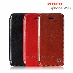 Bao da ốp lưng điện thoại iphone 5 - iphone 5s hiệu Hoco