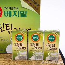 Sữa đậu nành vị trà xanh Vegemil
