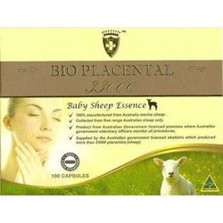 Viên uống nhau thai cừu Bio Placental 33000 Baby Sheep Essence