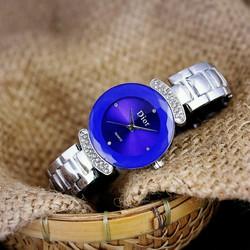 đồng hồ nữ mặt đá cực sang
